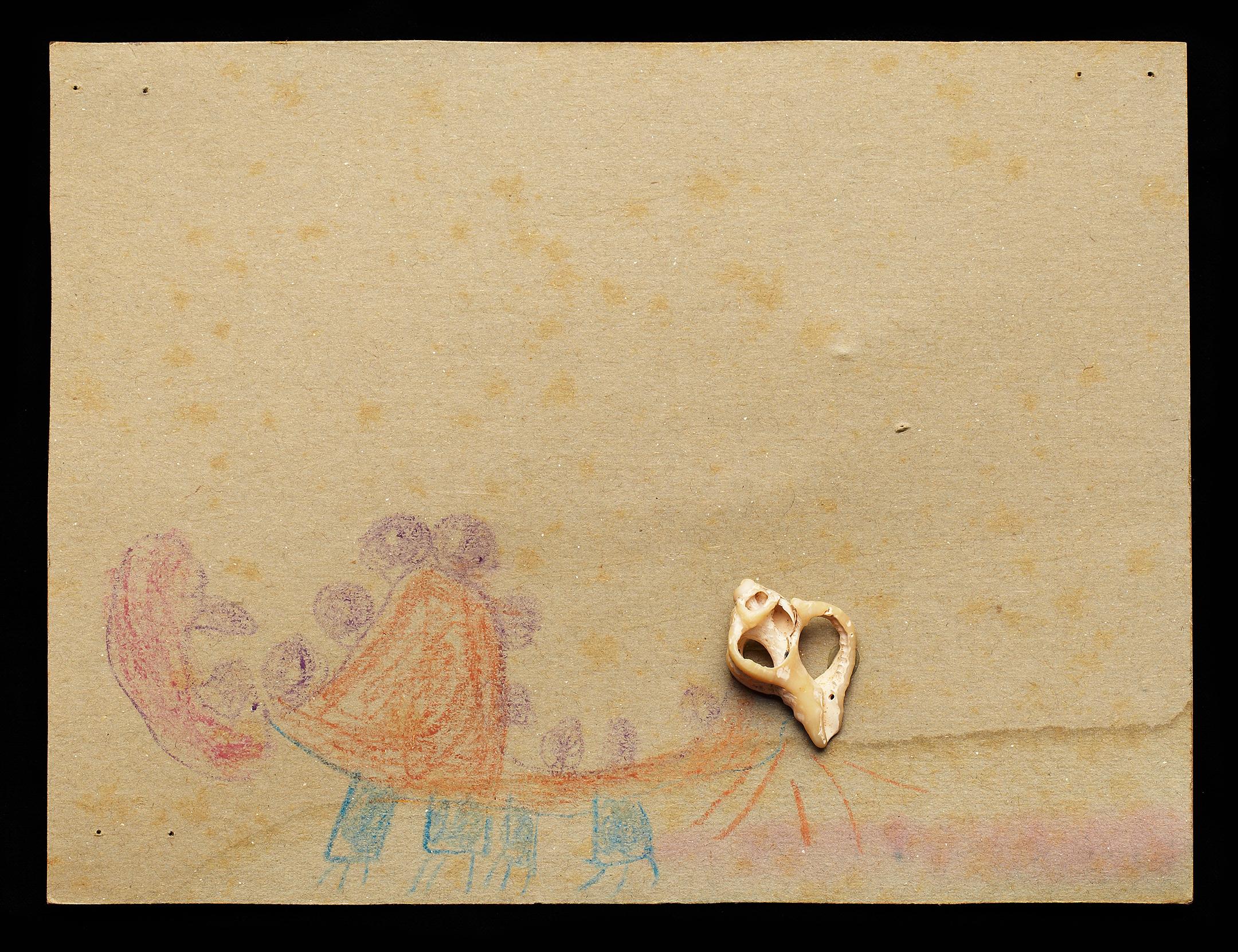 ShellArt- Dinosaur by Cyndi Long (?)
