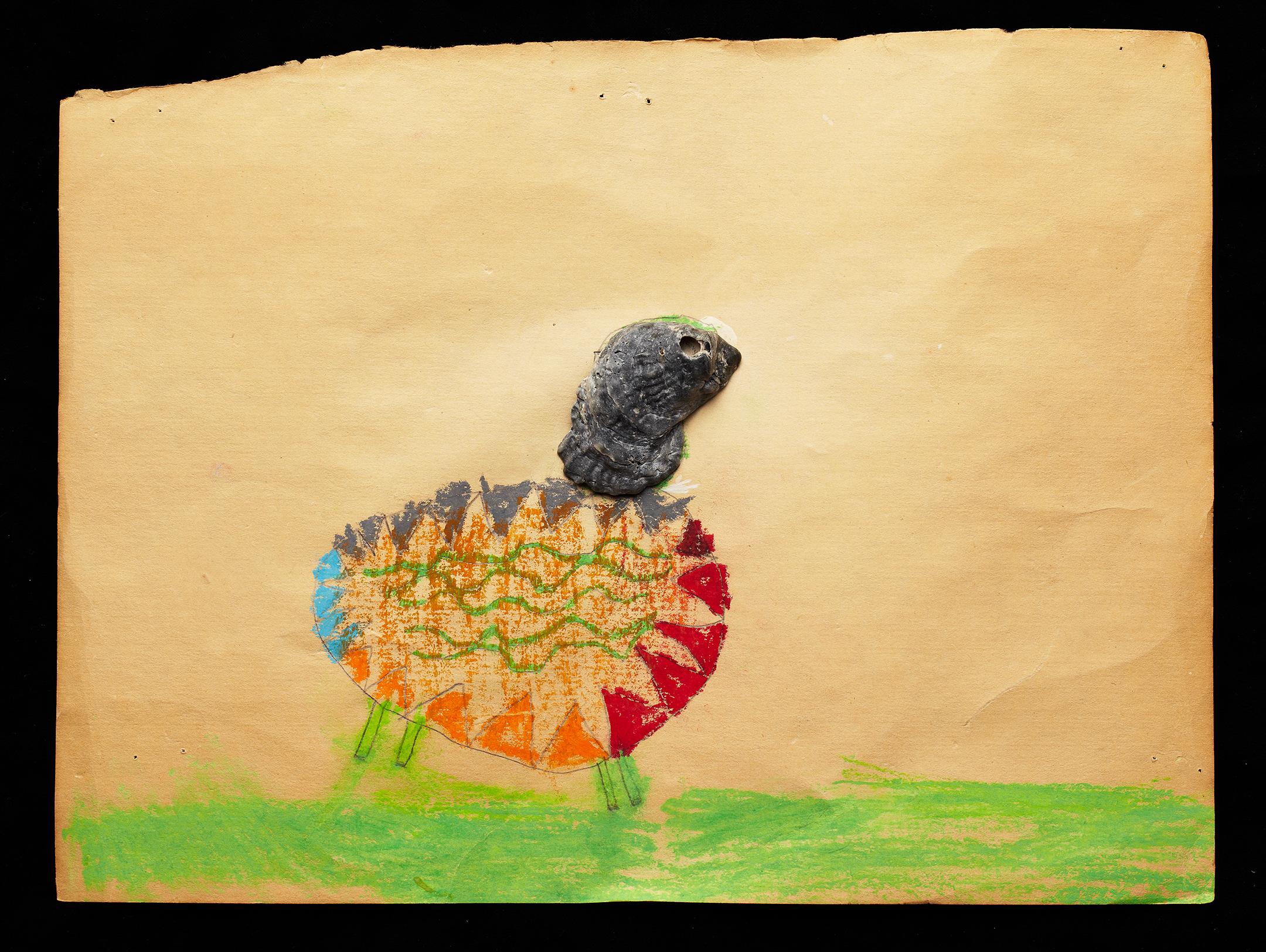 ShellArt- Sheep by Cyndi Long (?)