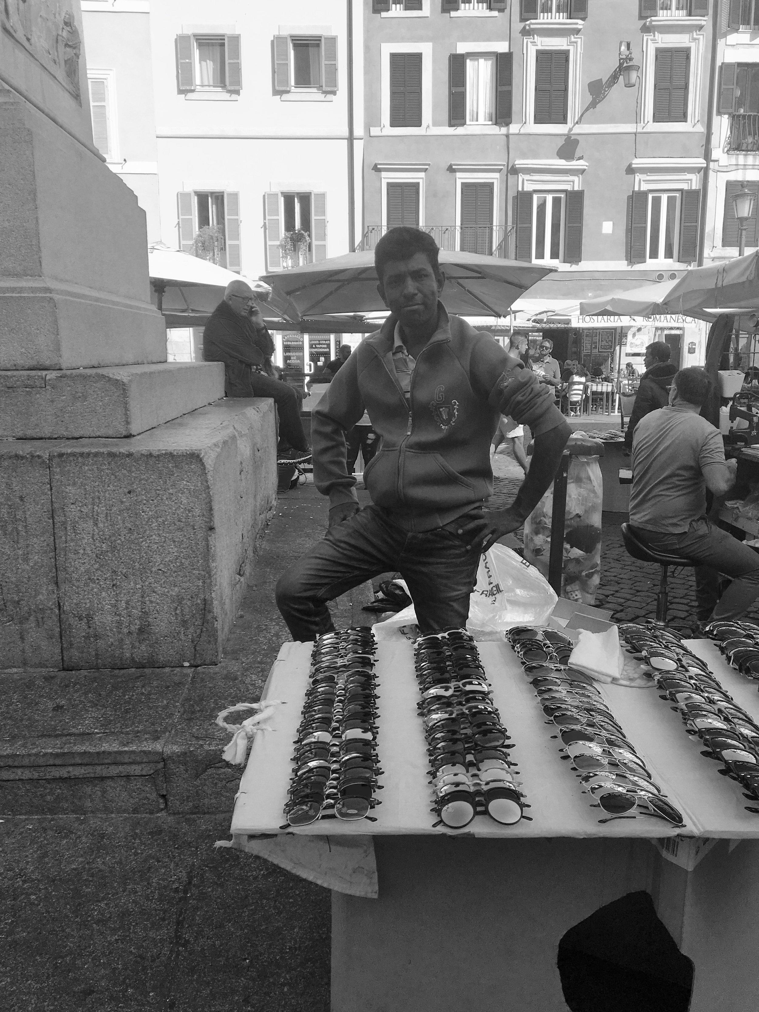 Market at Campo Dei Fiori, Rome