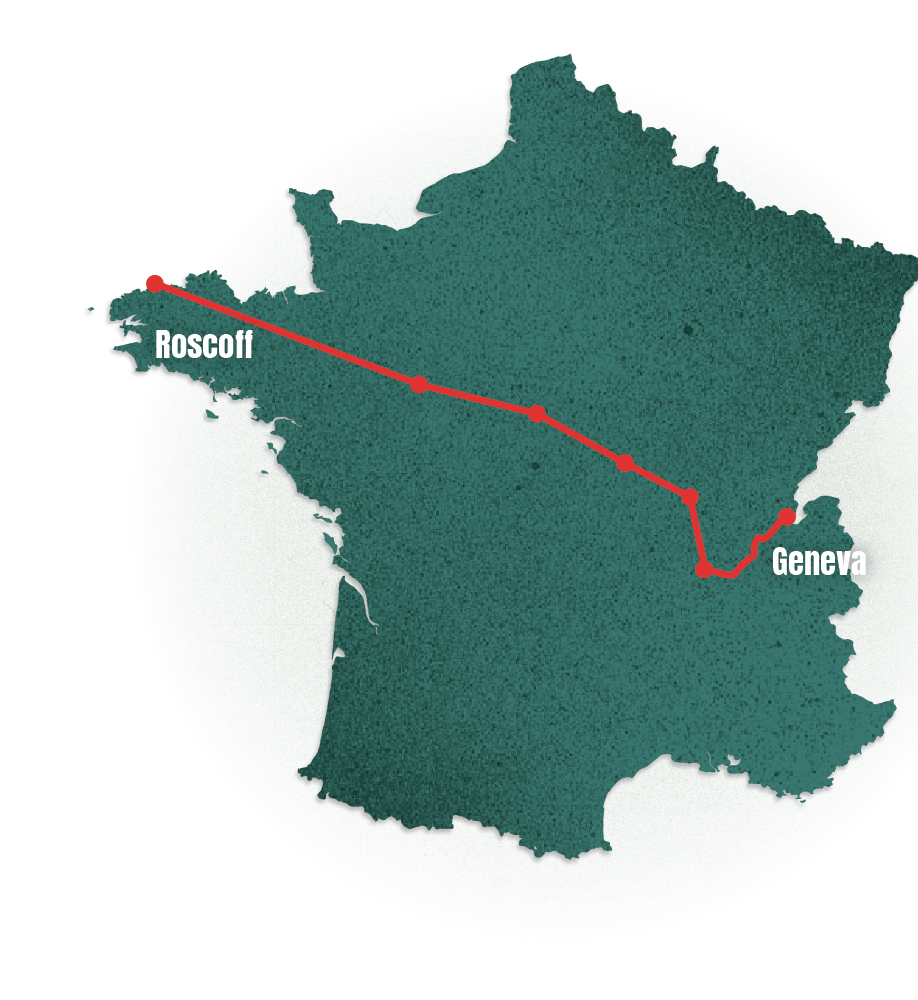 Roscoff to Geneva - Follow my first journey exploring what it means to be European by bike, starting in June 2017 soon after article 50 was triggered. Then Macron had just been elected. During the first week, the London Bridge terrorist attack occurred, the general election followed and then Grenfell a week after. You can read about people's views on Brexit and Europe in France, as well as their reaction to events at home.