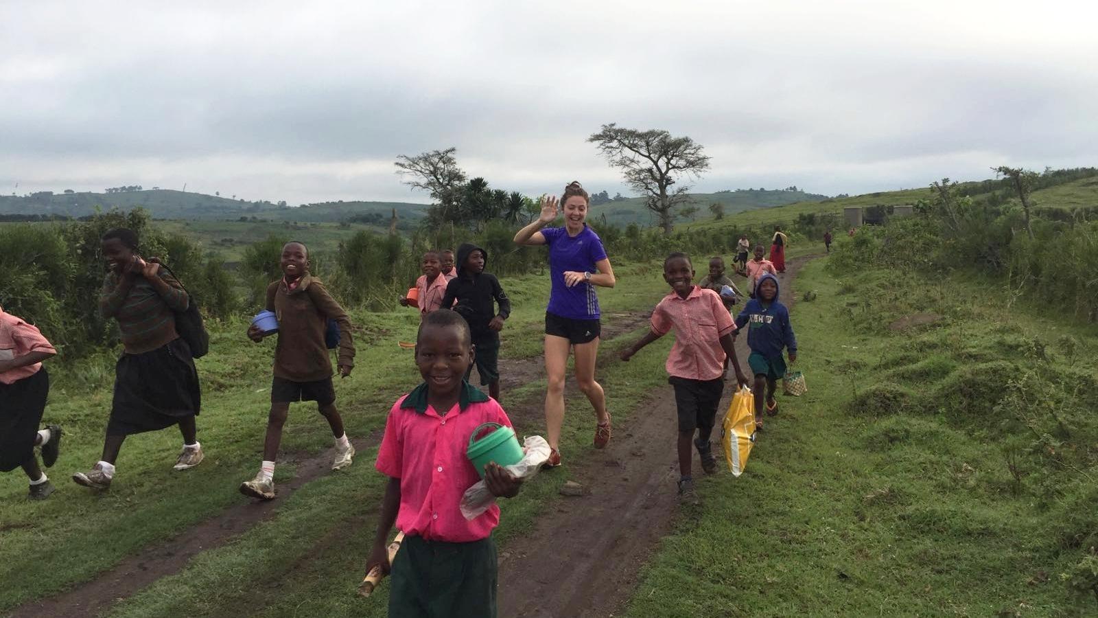Running the Rift Marathon, Ellie Lacey