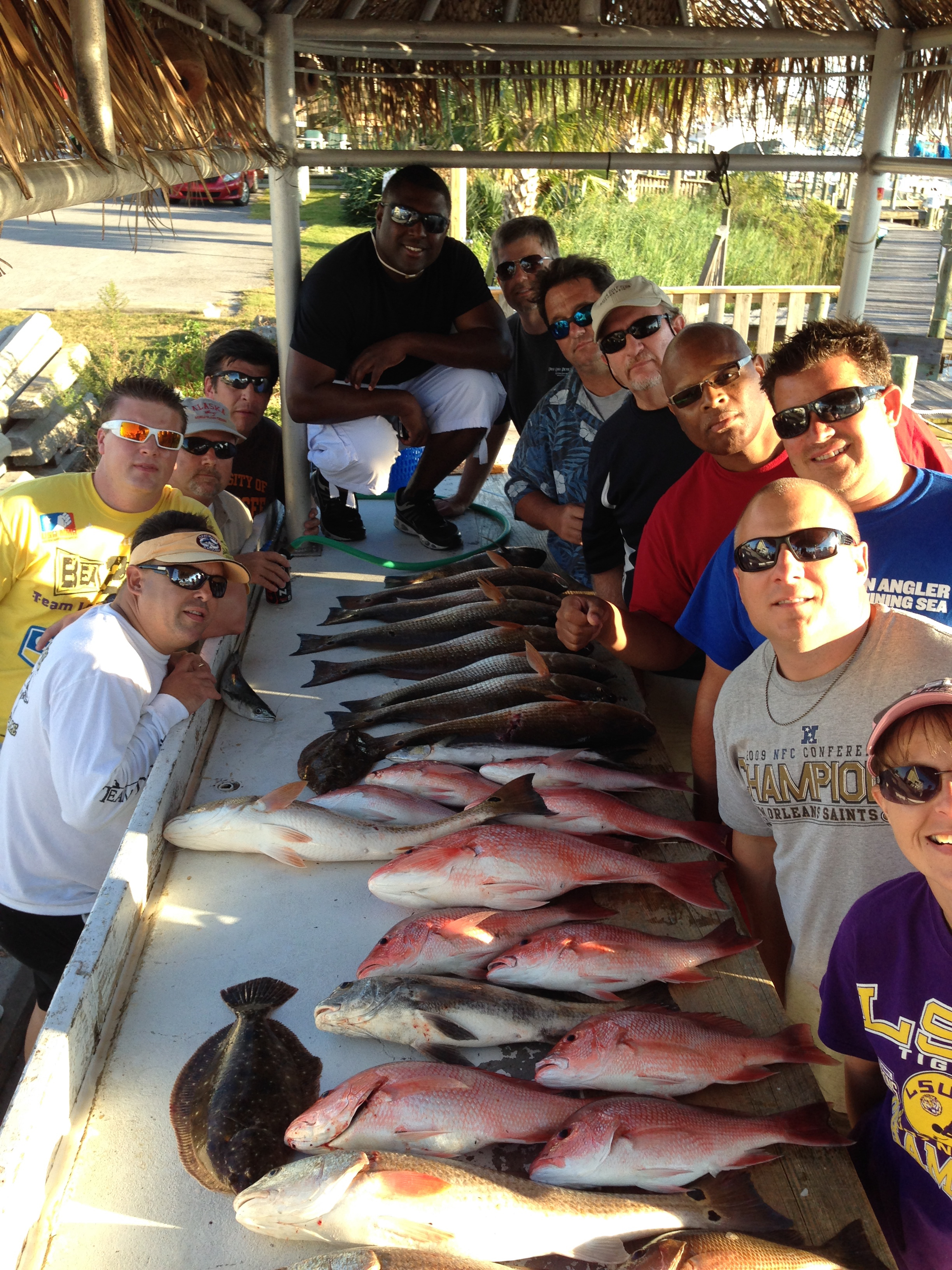 We offer muiltple boat trips as well! No group too large, no group too small!