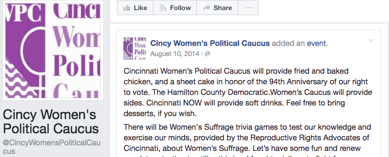 Ohio Women's Political Caucus