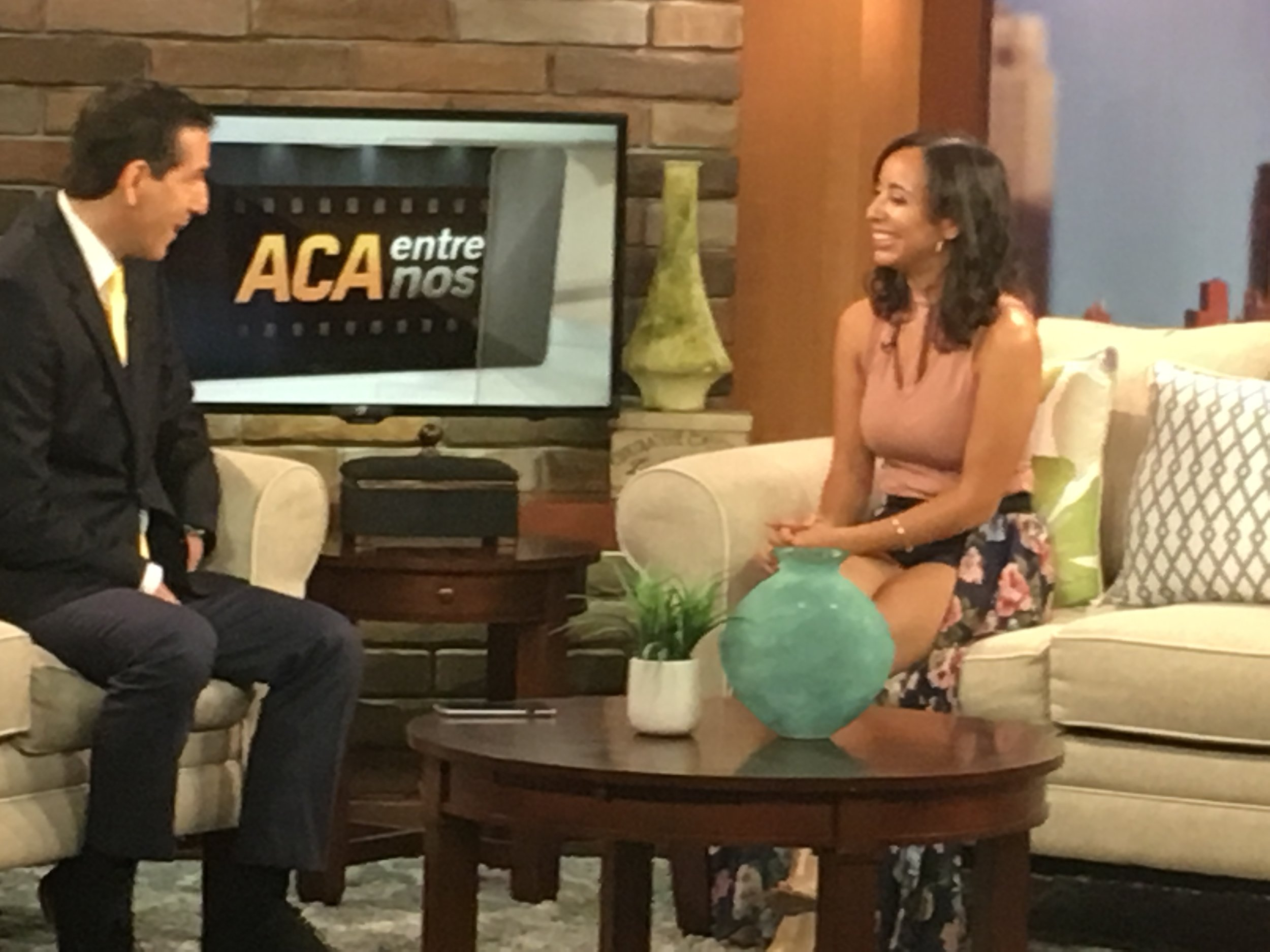 Univision - Watch Karina's interview and part of her live performance that aired on Univision's