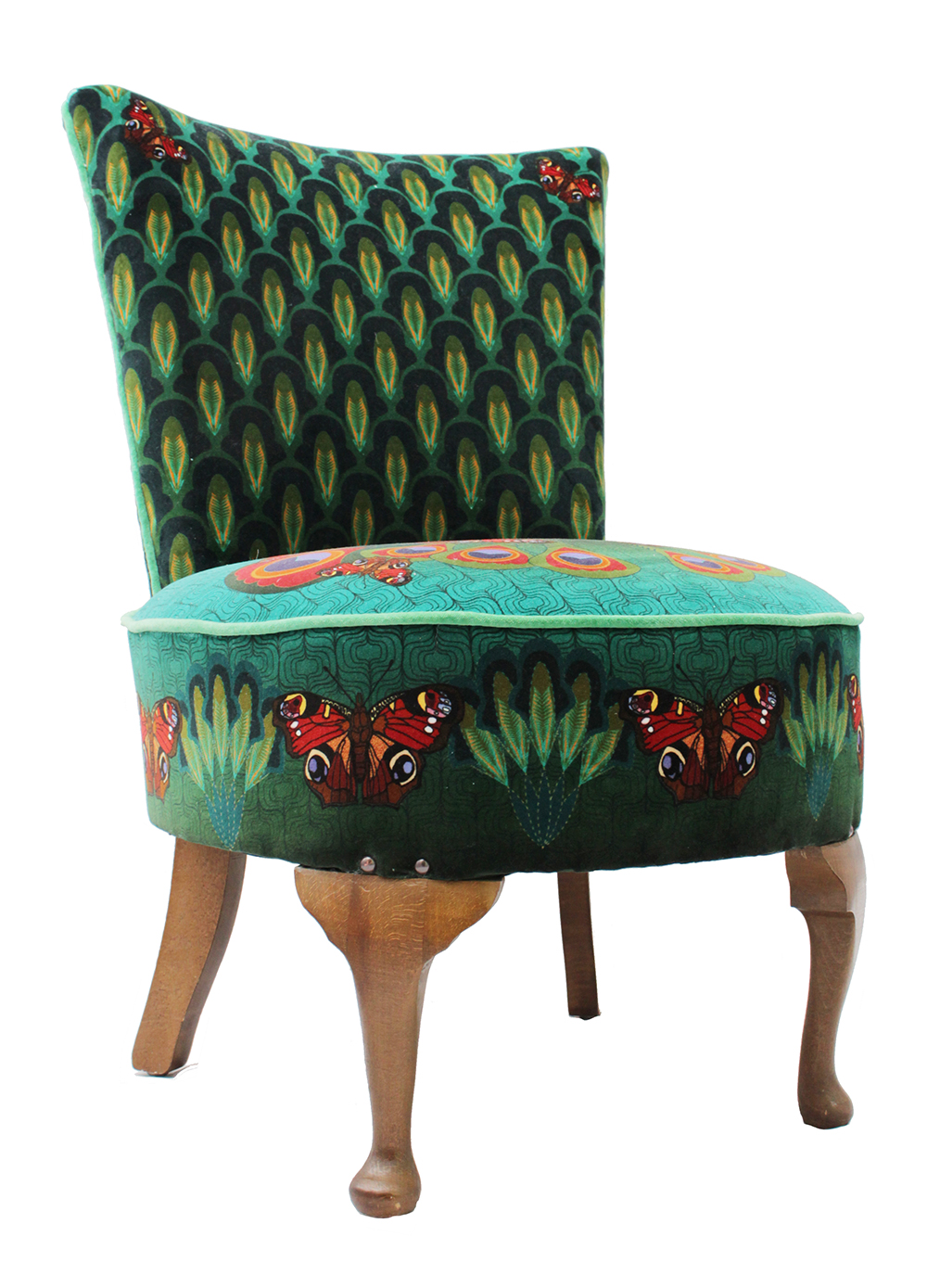 Peacock butterfly chair 78cm high x 56 cm wide