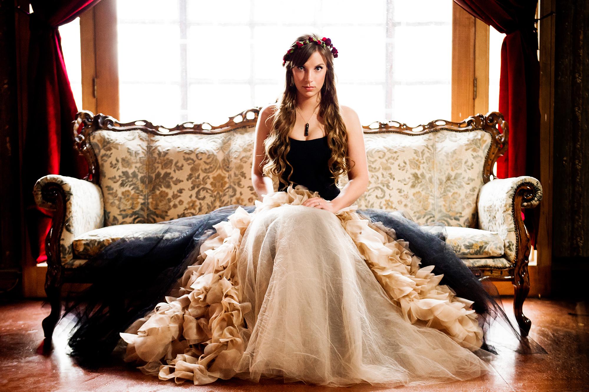Gothic Wedding Photoshoot