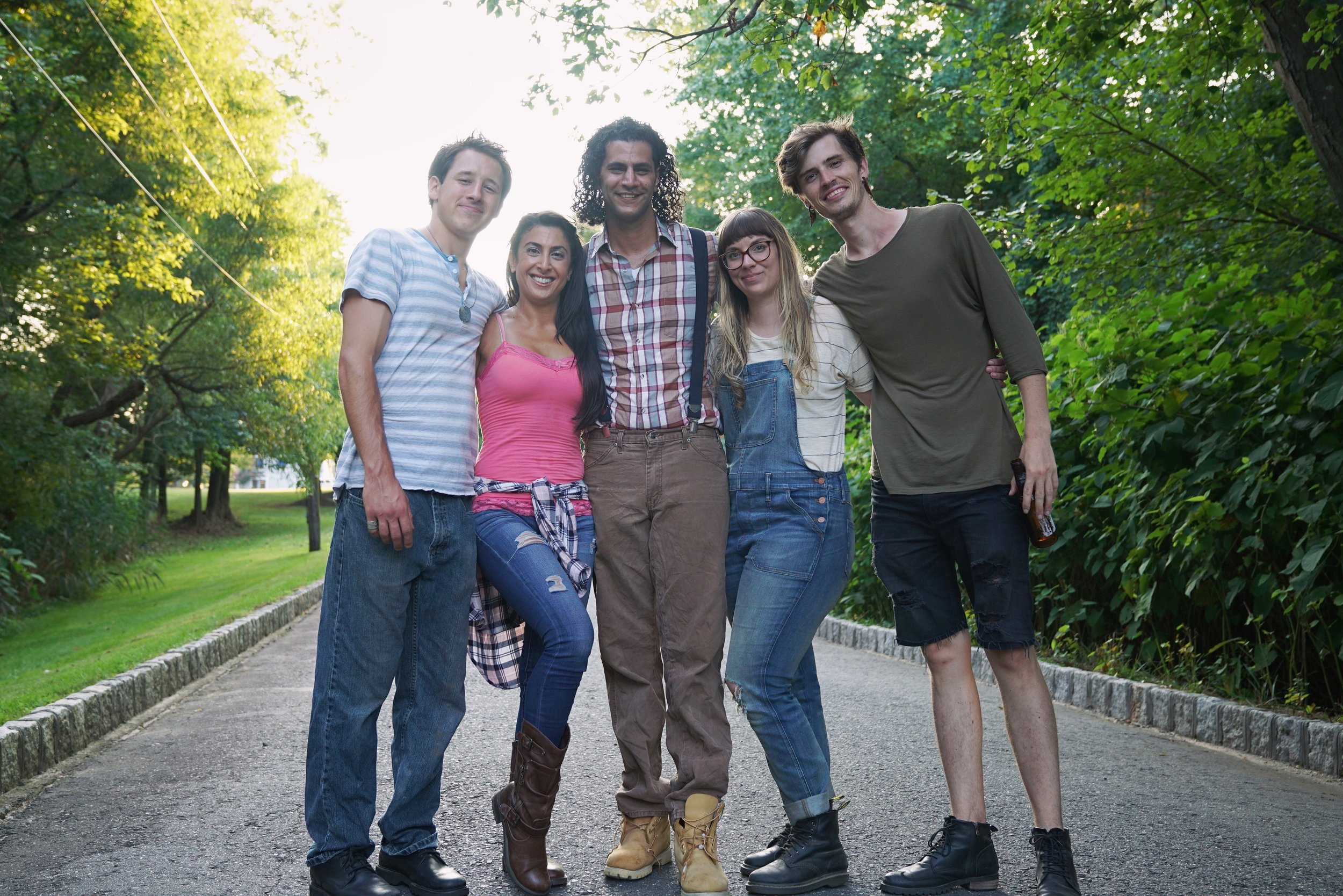 The Five in Merseyside  Cast