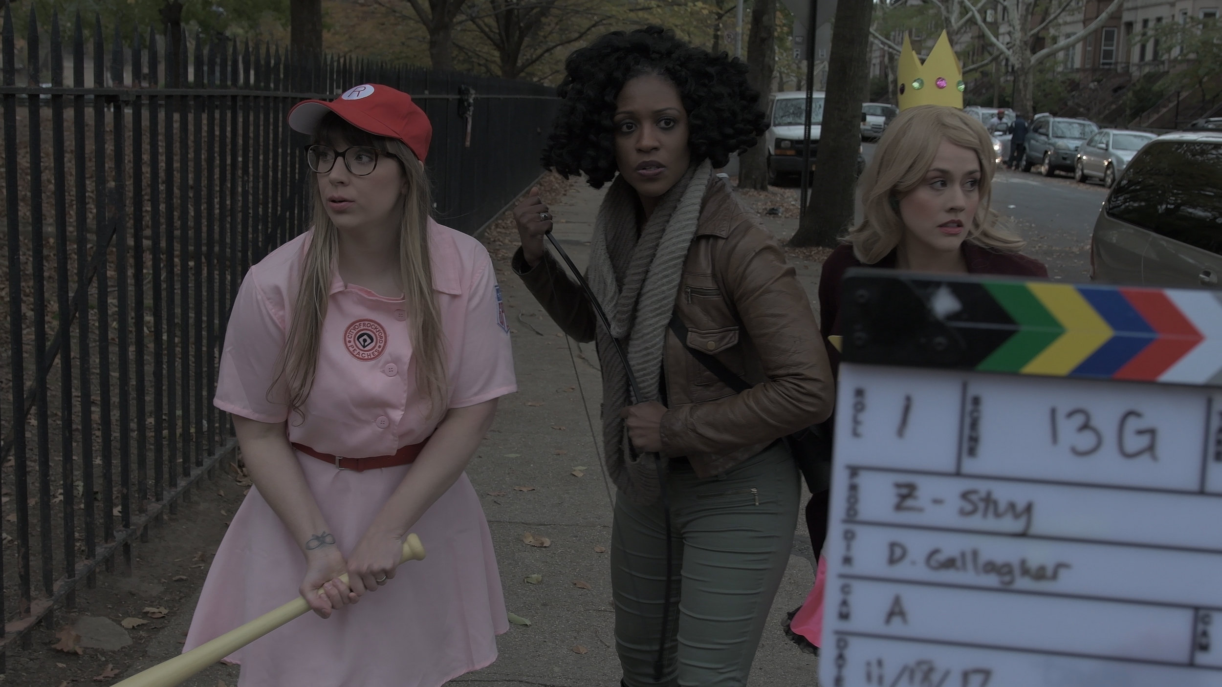Acting and Directing on the Set of  Z-Stuy