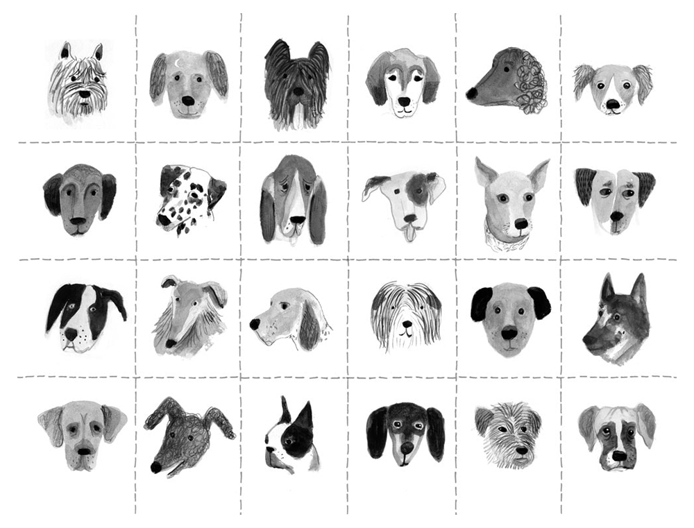 Endpapers — MUTT'S PROMISE / Dial Books for Young Readers  2016