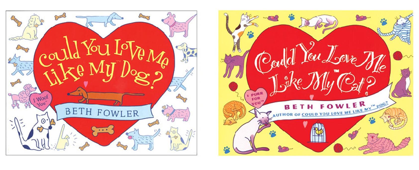 COULD YOU LOVE ME series—design & illustration / Fireside Books