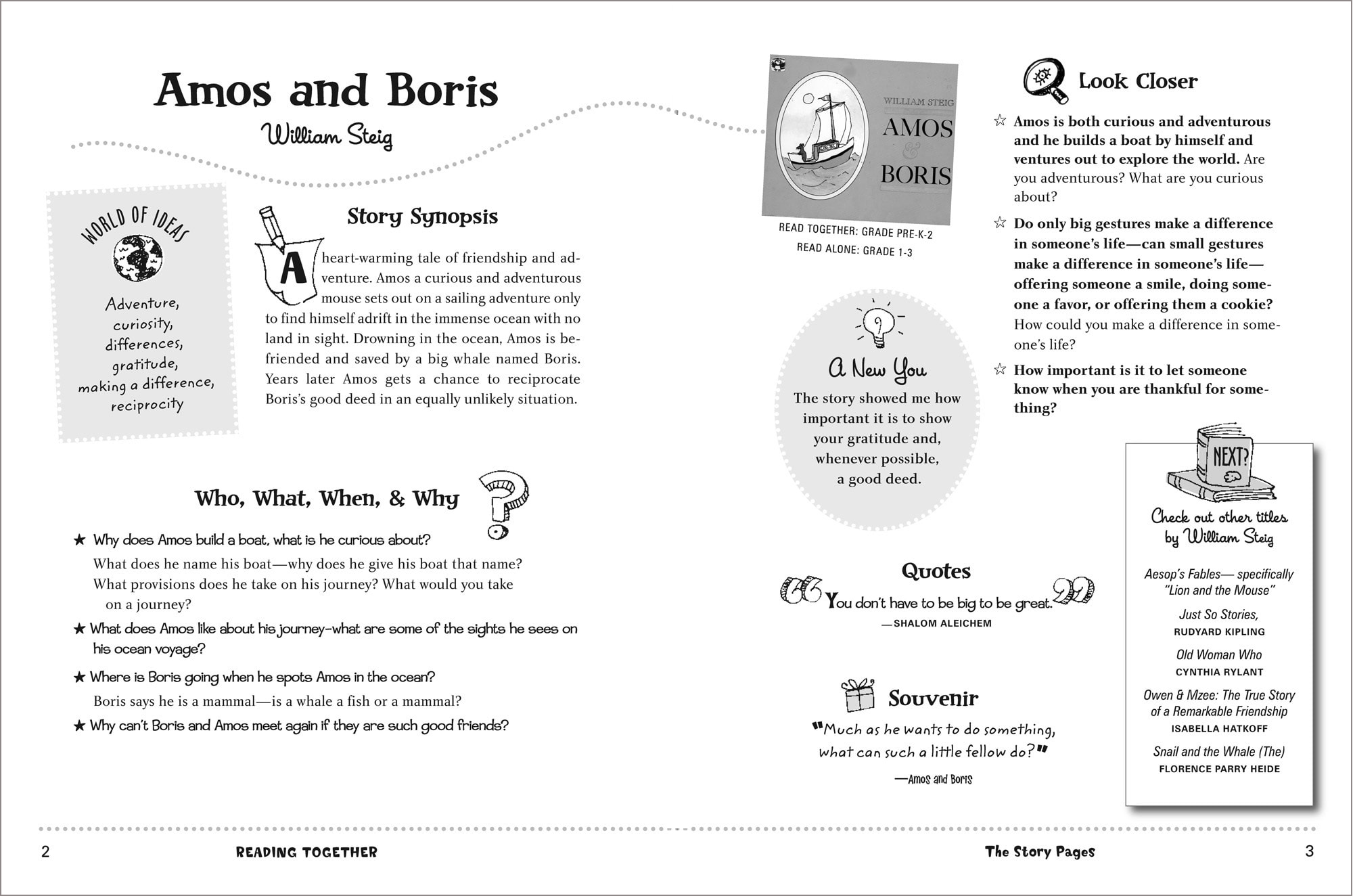 READING TOGETHER—design & illustration / Perigree Books