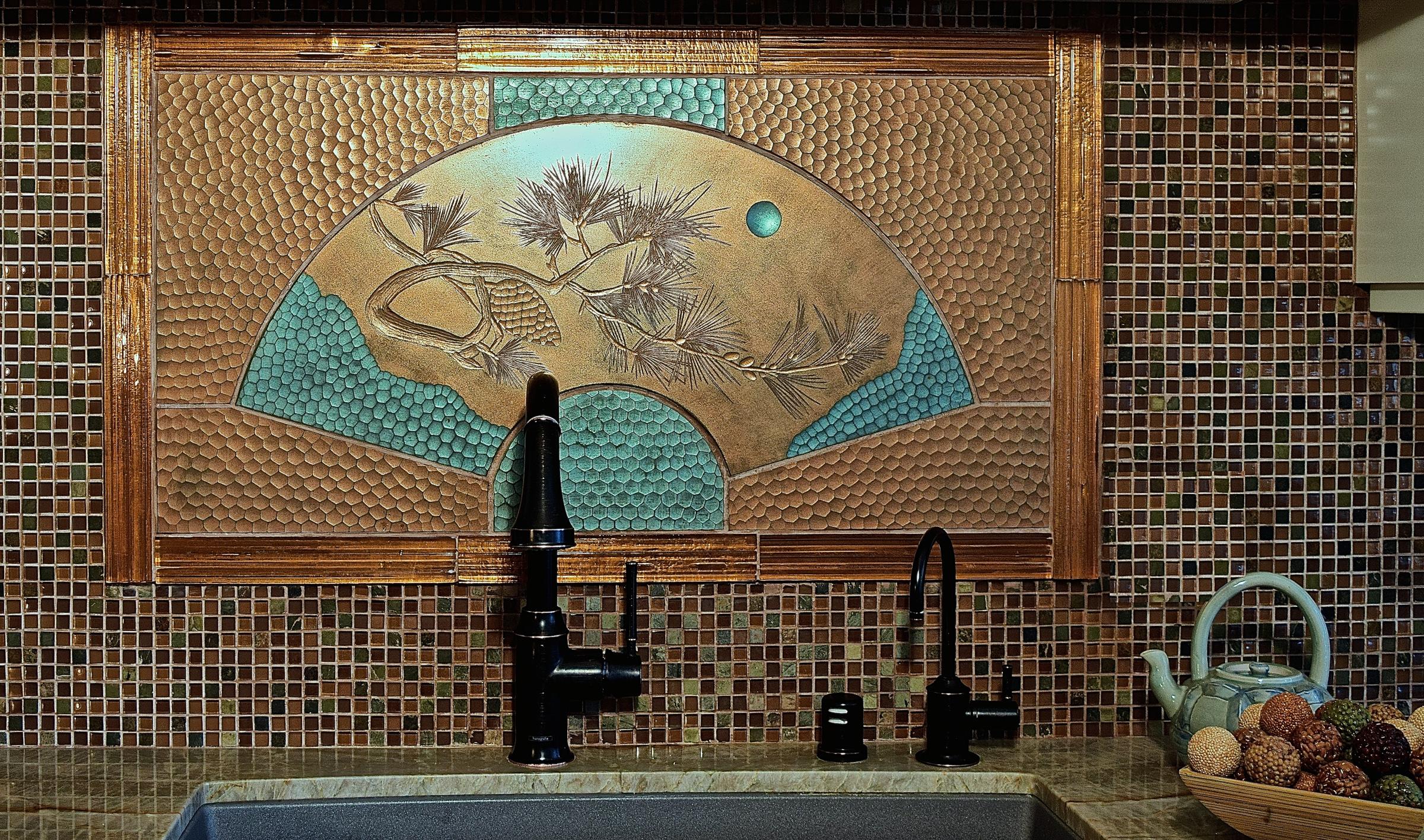 Pine Branch Mosaic