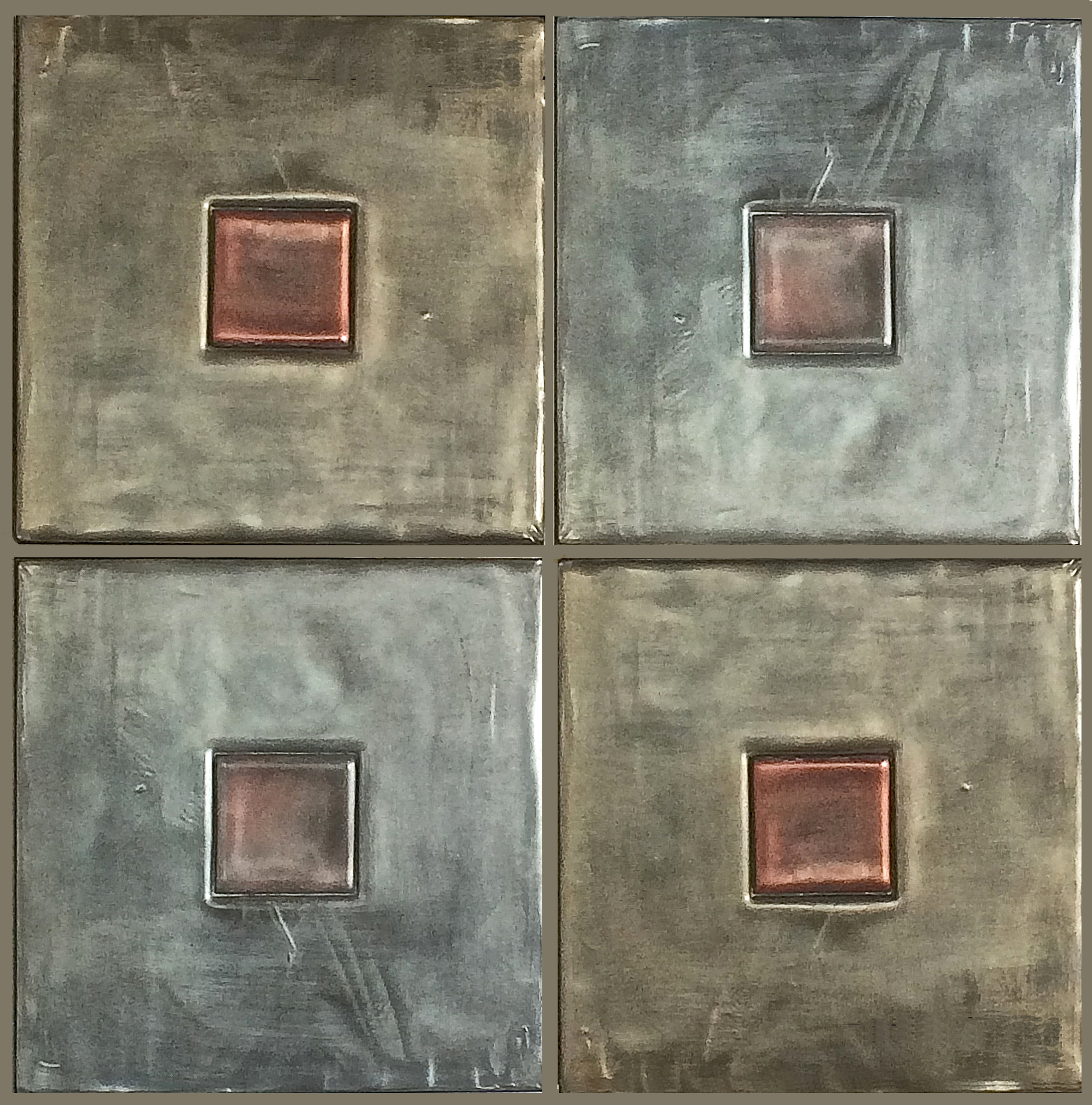 Quadrels - large format tiles 17x17""