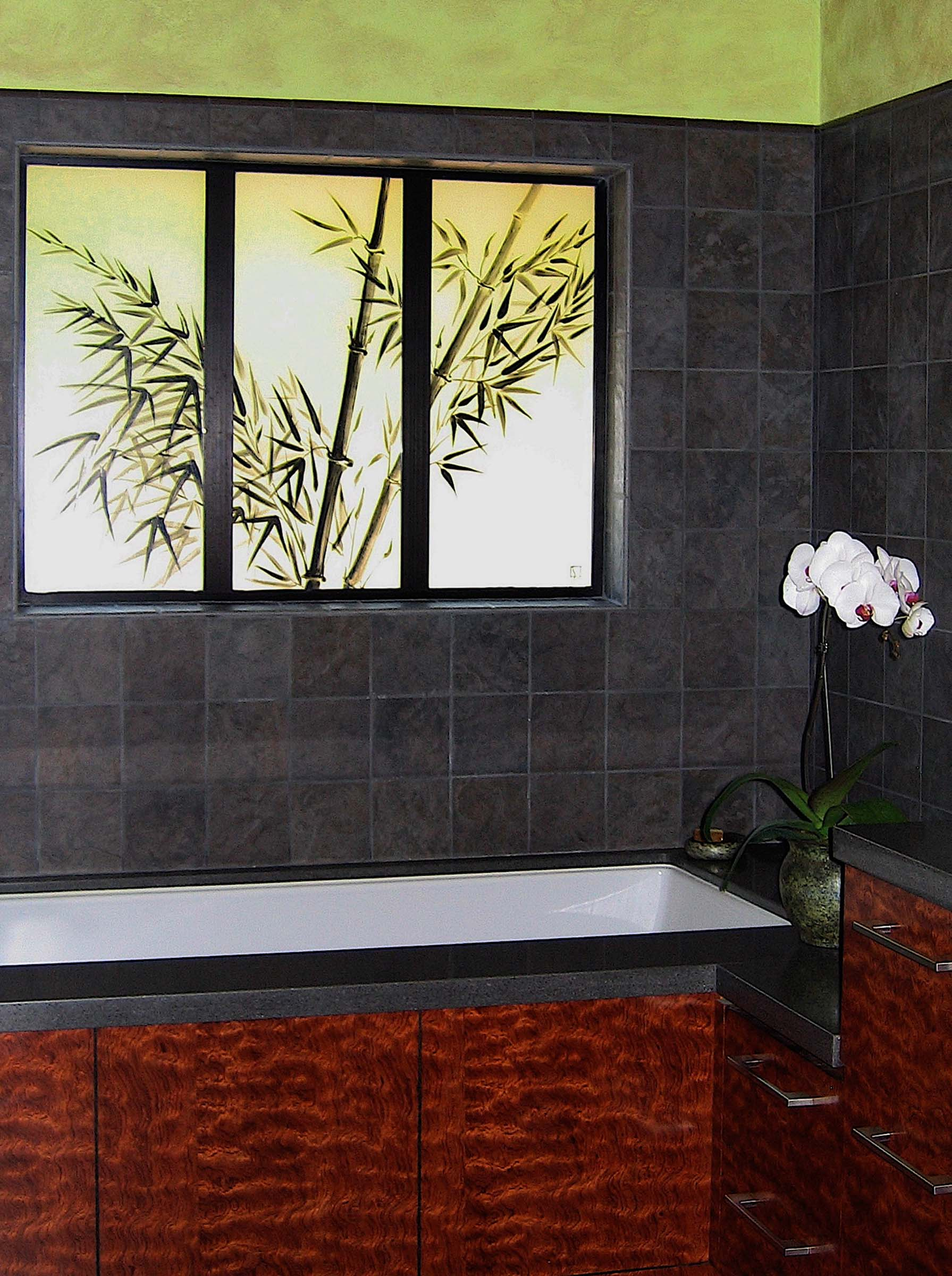 Bamboo Triptych