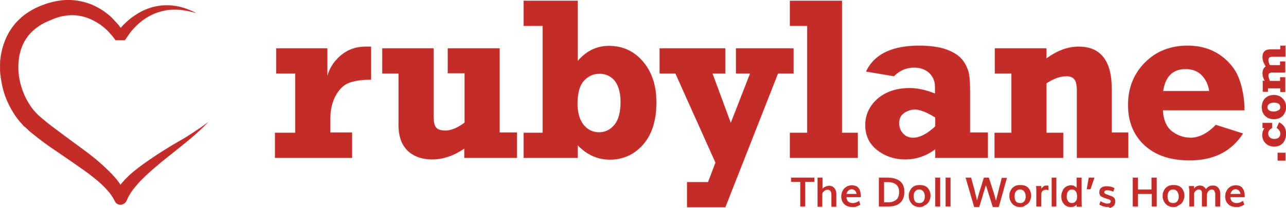 A Very Special Thanks to Lead Sponsor Ruby Lane for making the Fall Show Possible!