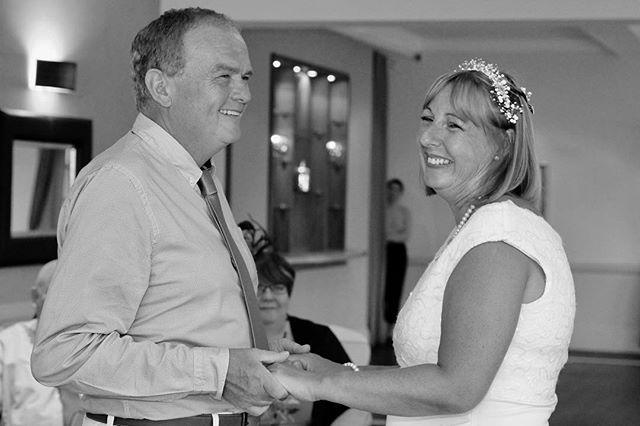 The happy couple #brideandgroom #weddingday #blackandwhitephotography #rainraingoaway #thepipas2018