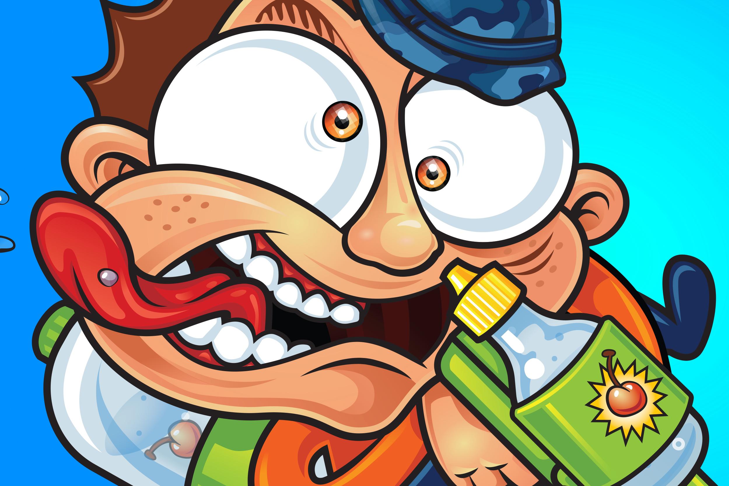 quikTrip Wally Juice - C-store Packaging for Kids