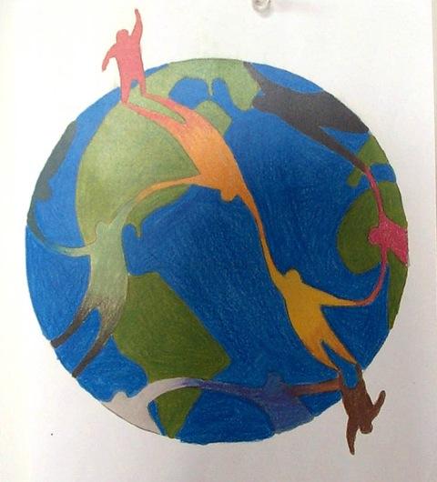 Illustration by former UVM student.