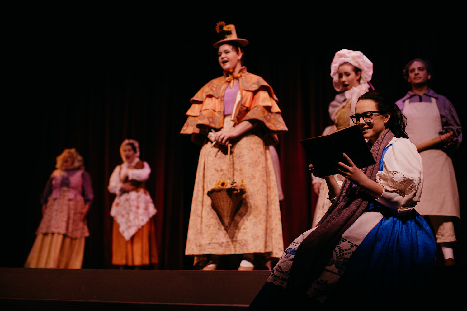 Disney's Beauty and the Beast - Belle | Ferndale Repertory Theatre - Ferndale CA | Leon Villagomez