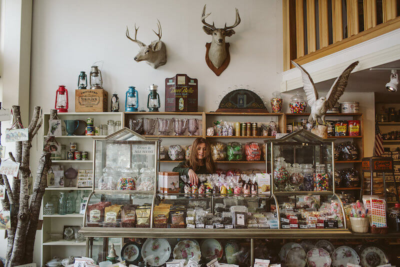 Candy Bar at Golden Gait Mercantile | Ferndale CA