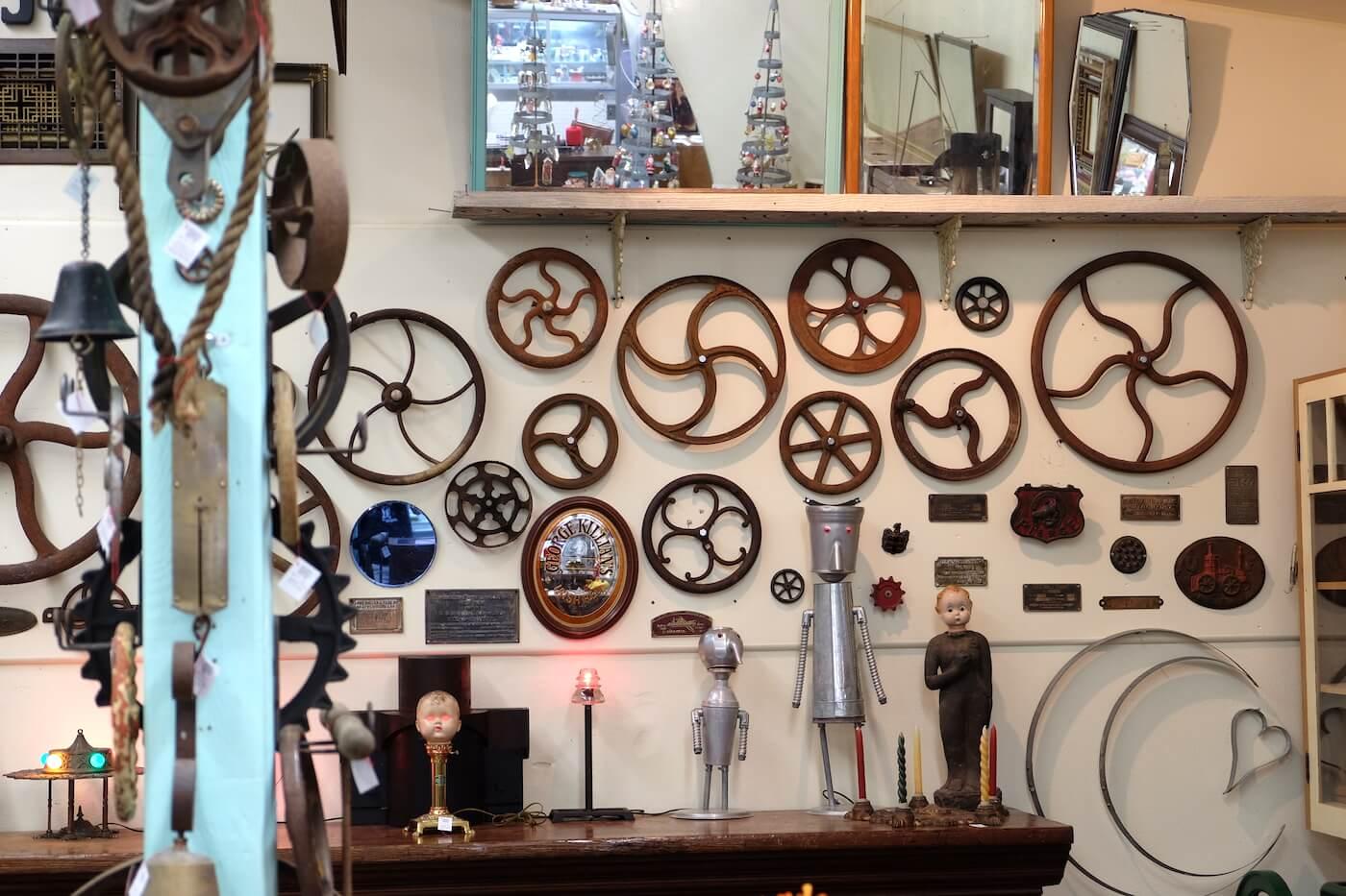 Steampunk Electronic Art at Spencer's Ferndale Vintage - Historic Ferndale CA.jpeg
