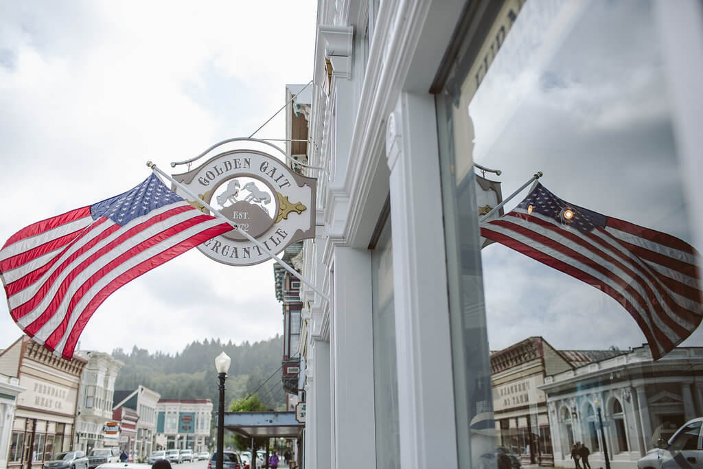Americana at its best   Step Back in Time    On Historic Main Street