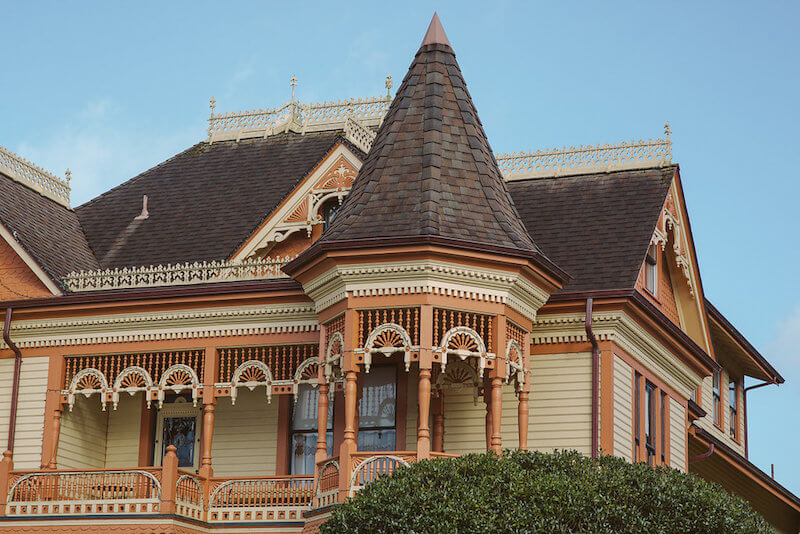Gingerbread Mansion in Historic Ferndale CA