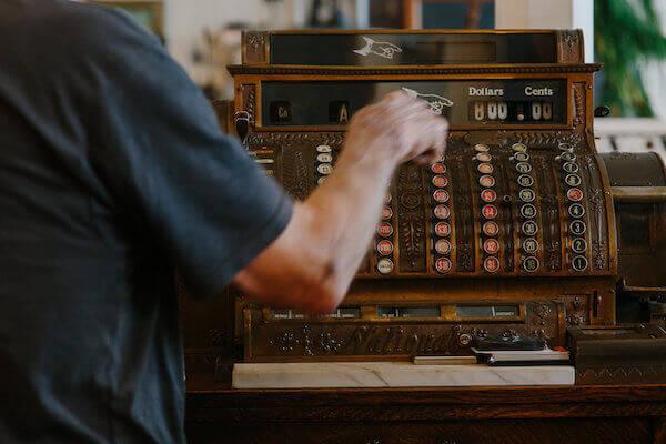 Vintage Cash Register - Shopping in Ferndale CA.jpeg