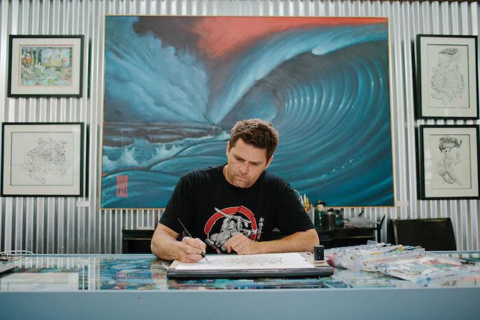 Shawn Griggs RedEye Laboratories Art Gallery in Ferndale CA.jpeg