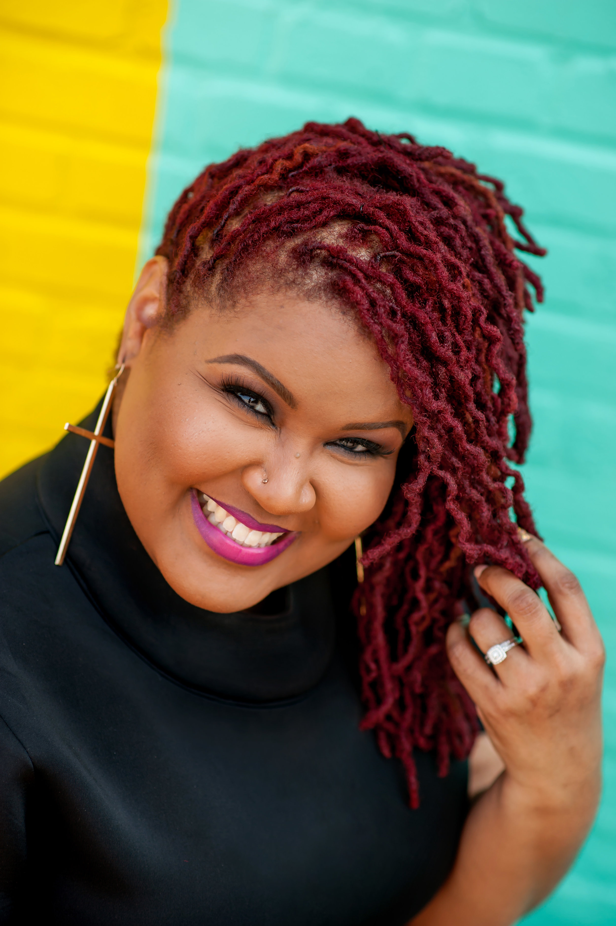 ABOUT LACRETIA - LaCretia is the Owner and Master Loctician of Nappturally U proudly serving the Washington D.C. Metropolitan area for over 15 years, however her customer base extends all over the U.S.. High quality standards and a tireless work ethic has made her one of the top Locticians in the natural hair care industry. LaCretia continues to perfect her craft assuring customers will receive the consistent quality service they deserve.You will enjoy the one on one attention you receive when getting your loc services done at Nappturallly U where the focus is on quality, not quantity.We look forward to you becoming part of the Nappturally U family!~ Natural is Beautiful.