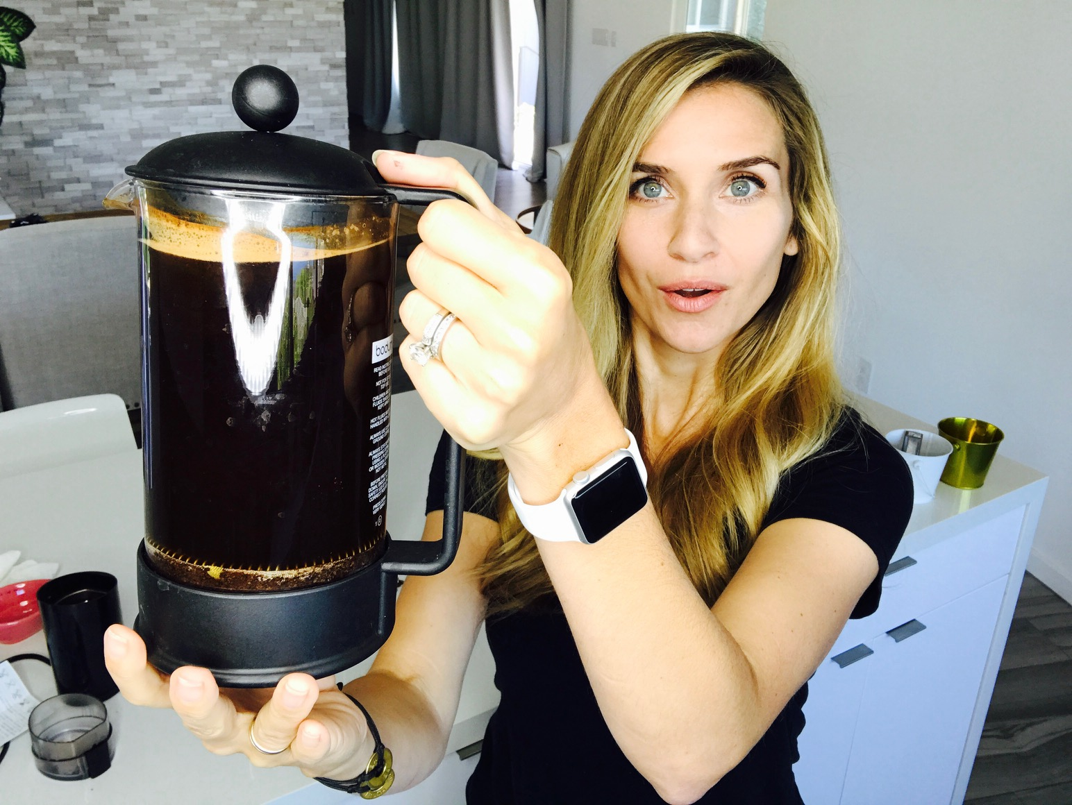 The French press makes Cold Brewing EASY!!