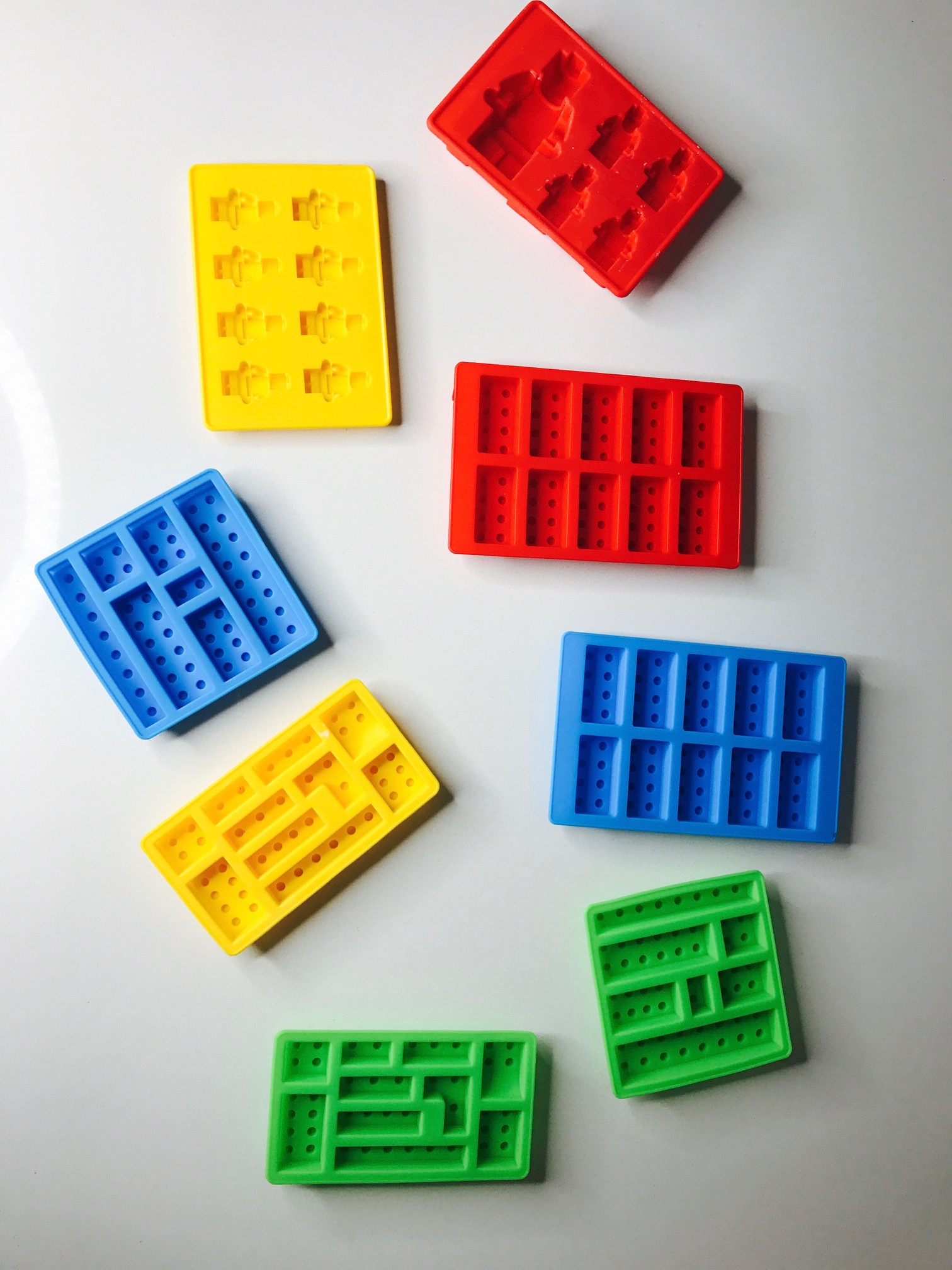 LEGO molds are the best! You can use these to make LEGO chocolates, crayons and even magnets!