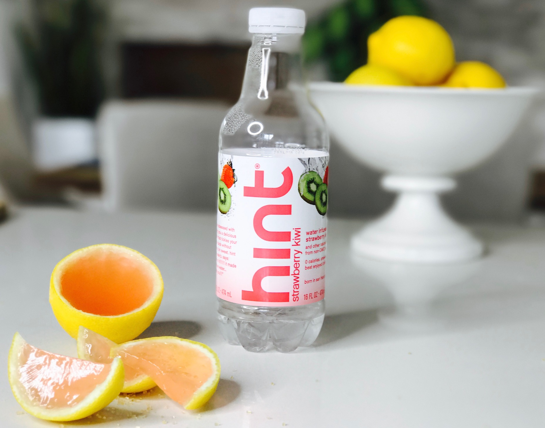 I love Hint water!  The strawberry kiwi flavor is my favorite!