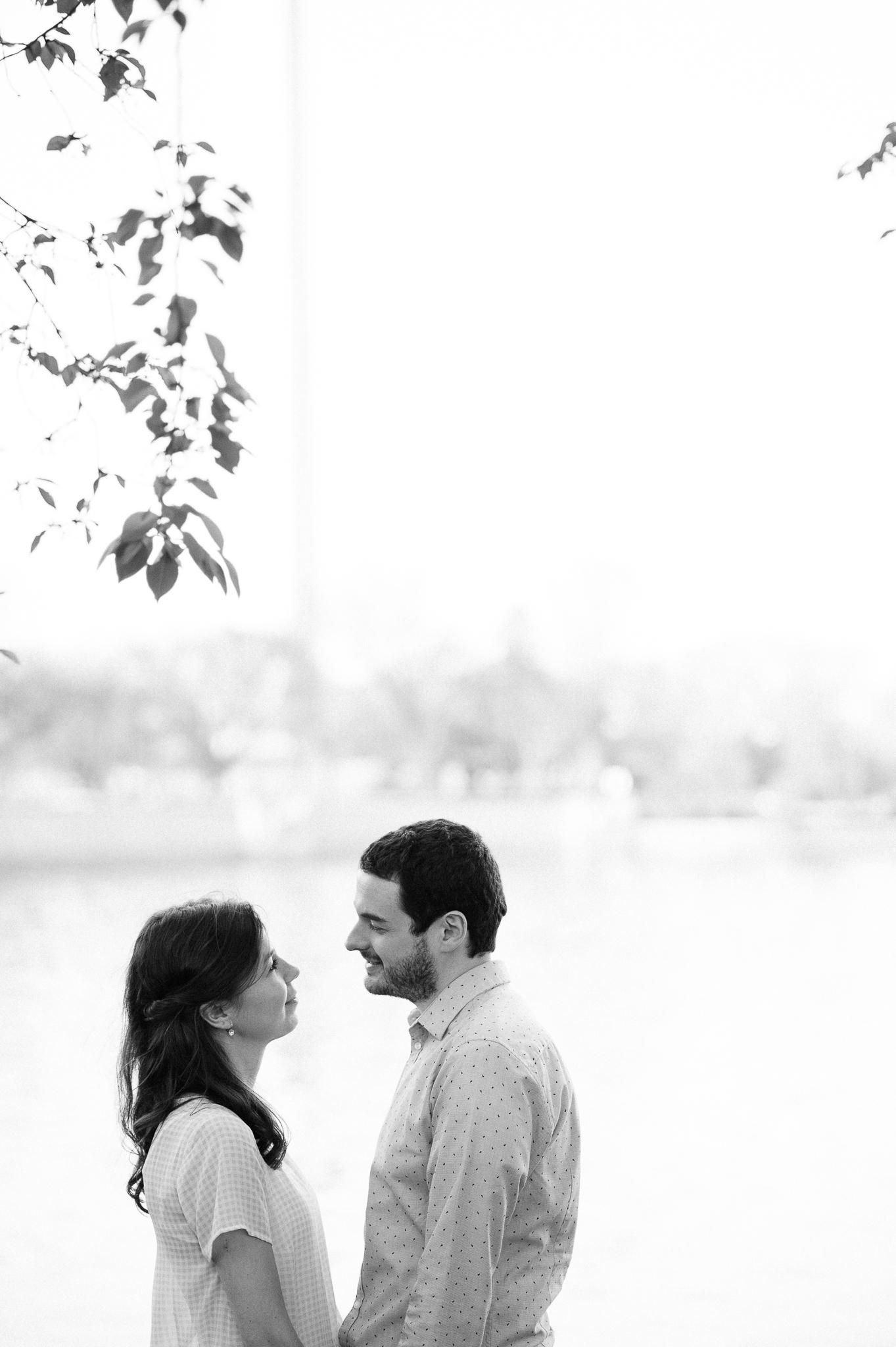 Mark and Christine engagement in Washington DC 04/11/17. Photo Credit: Nicholas Karlin www.karlinvillondo.com