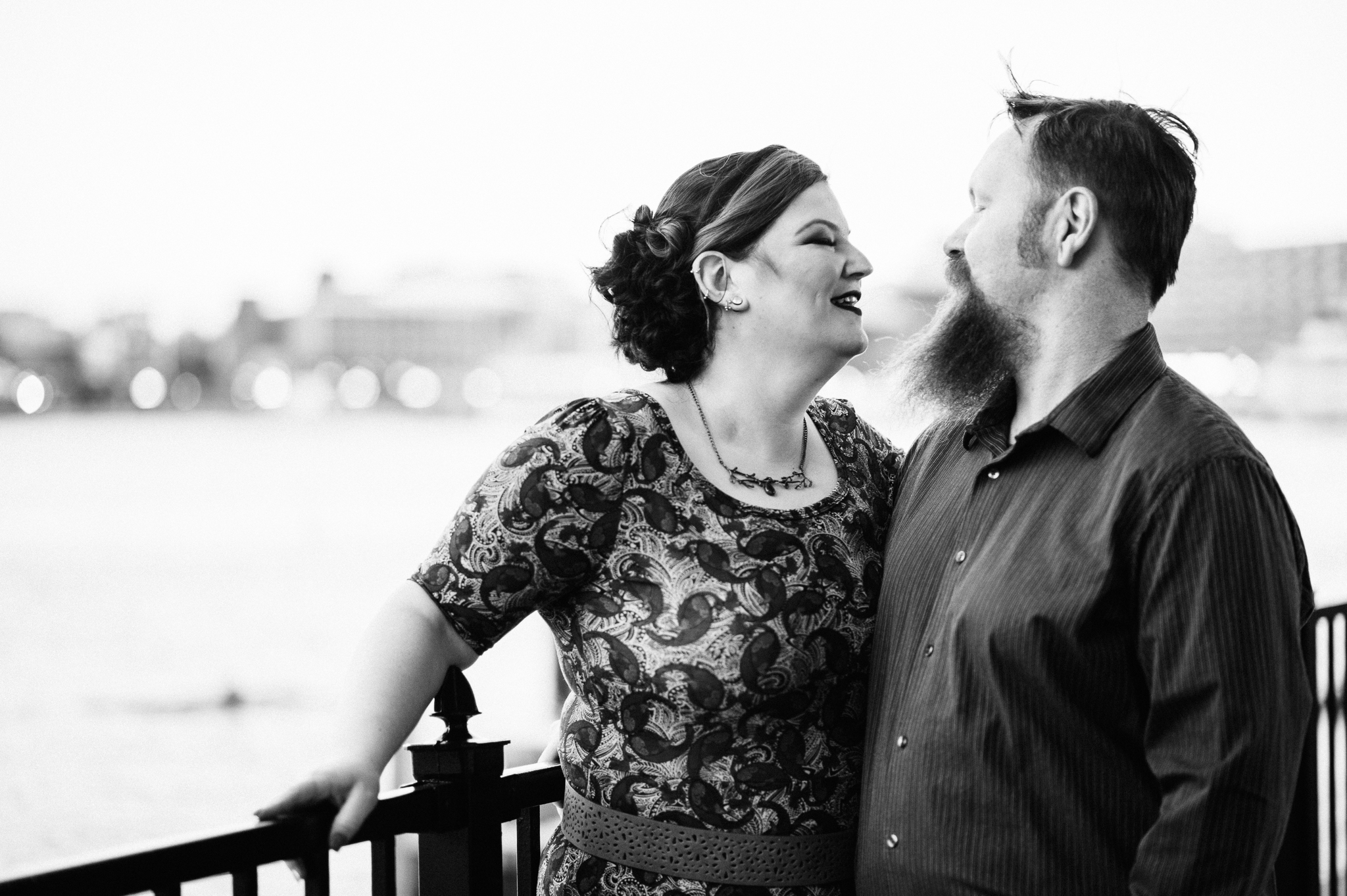 Bonnie and Josh Engagement in Baltimore, MD 04/04/17.  Photo Credit: Nicholas Karlin www.karlinvillondo.com