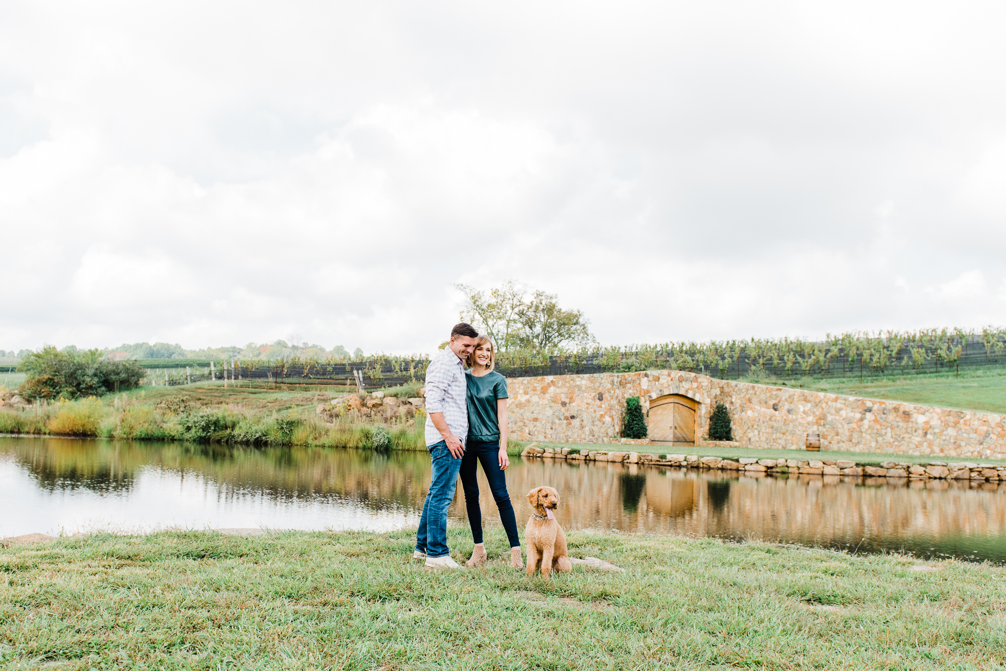 Bethany & Tony's Engagement Session at Stone Tower Winery