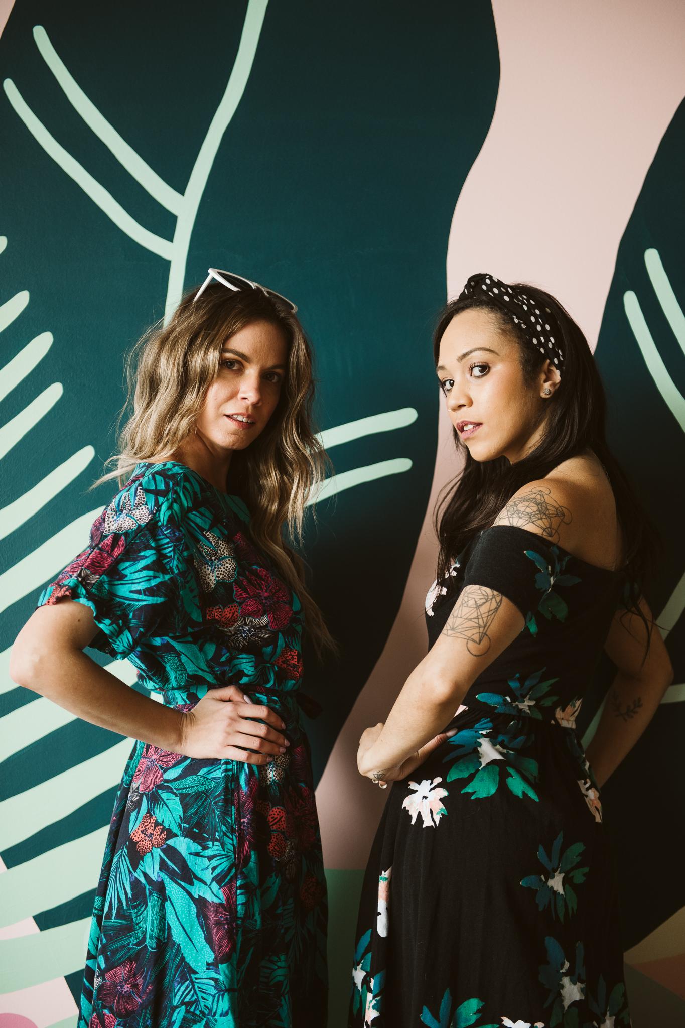 Amanda and Erin at Coconut Club