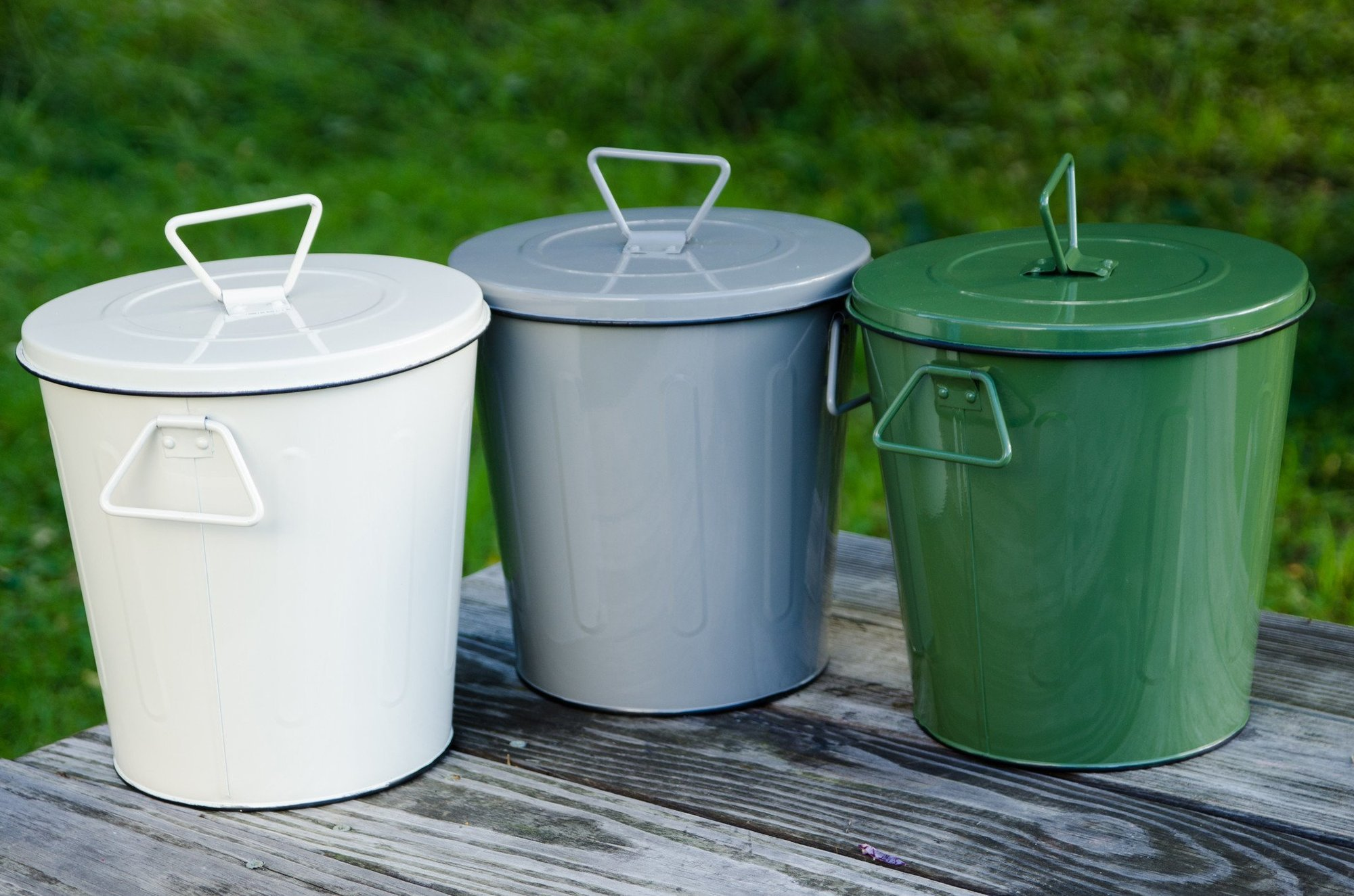 Compost Bins - Metal style