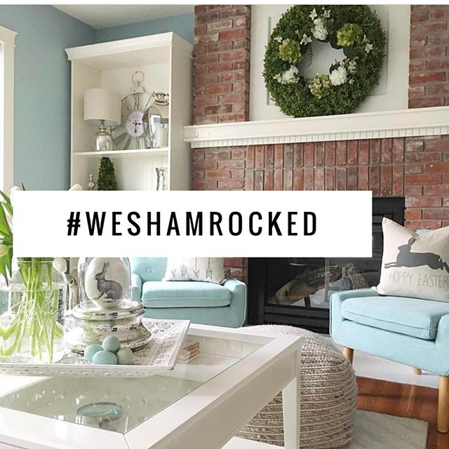 Have you #SHAMROCKED?! Post your paint project and use the hashtag #WeShamrocked for a chance to win a $50 gift card to @shamrockpaints !