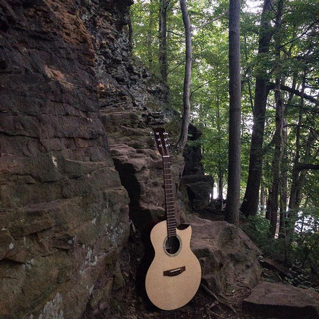 German Spruce with East Indian Rosewood visits The Ledges, Michigan