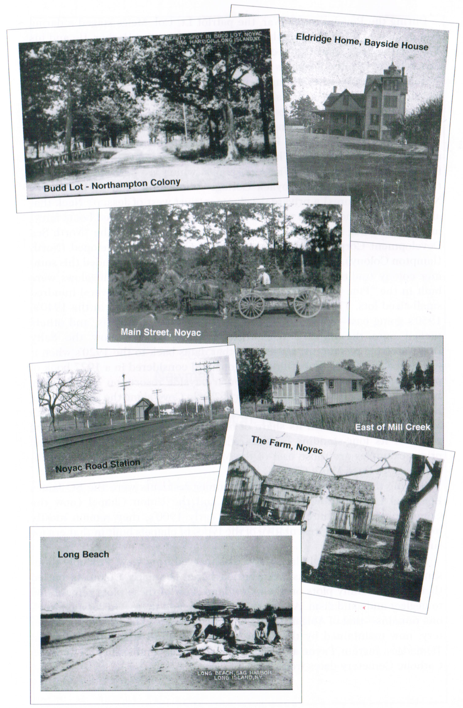 Old Noyac photos from 50th Anniversary Journal