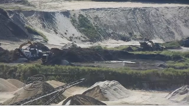 Groups call for Gov. Cuomoto shut downSand Land Mine -
