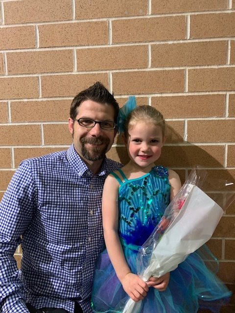 Eric Peterson  is Visiting Assistant Professor   at Creighton University. His research interests include imagination, philosophy of mind, ethics, and much more. The little dancer is his daughter Emerie (5). And, as many of you already know, he proudly serves as the managing editor for  this blog.