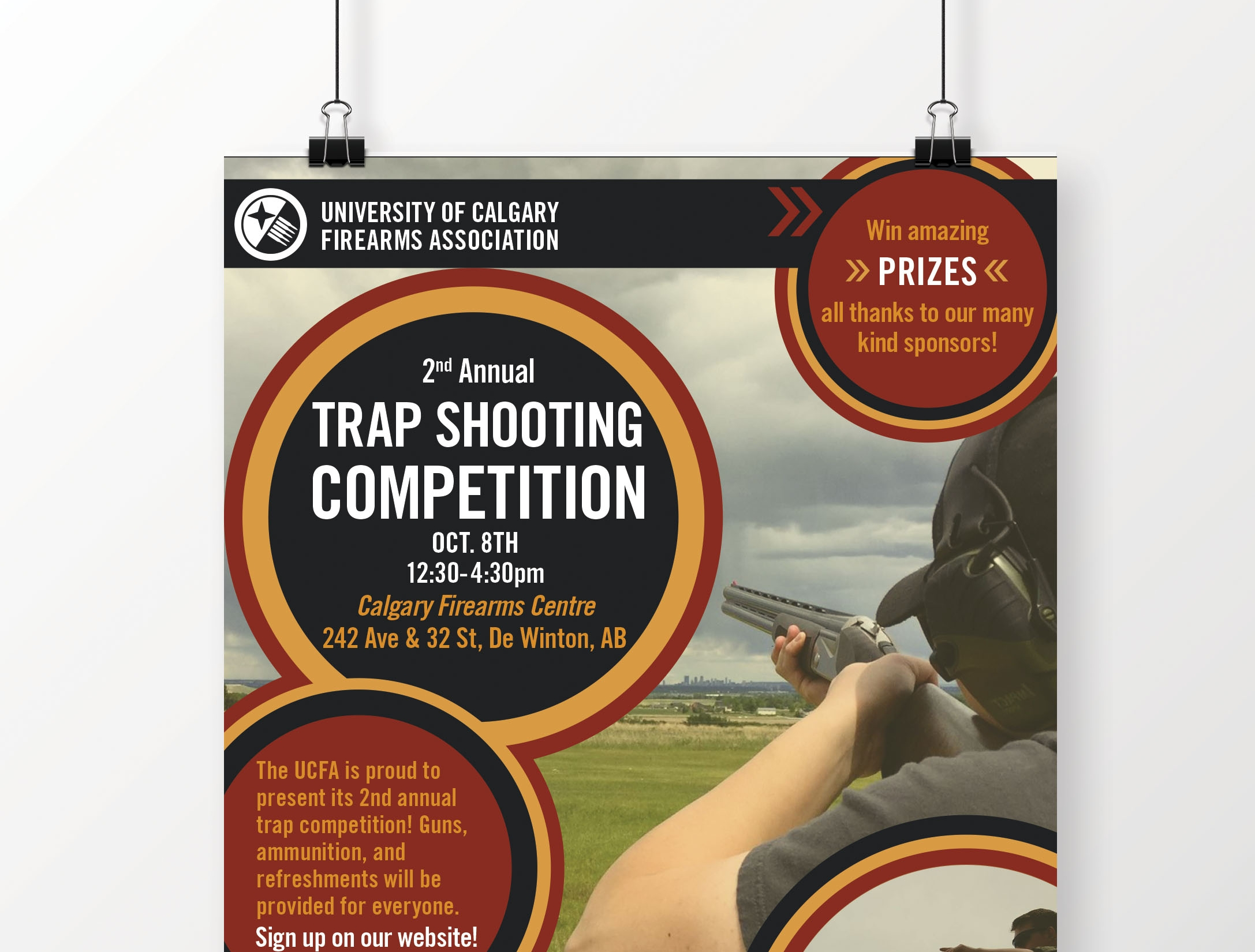 University of Calgary Firearms Association - Club Posters