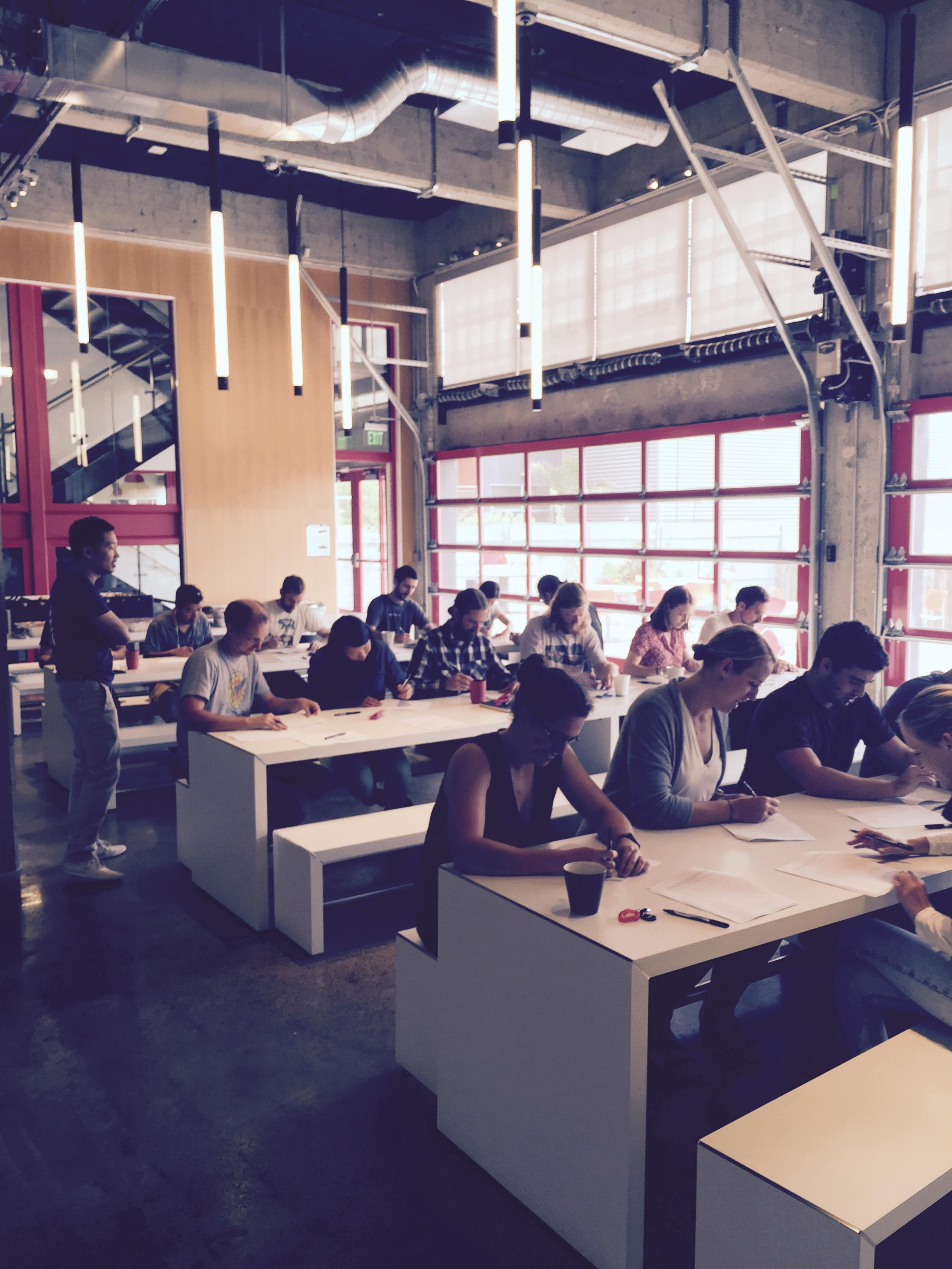 Engineers attending the workshop.