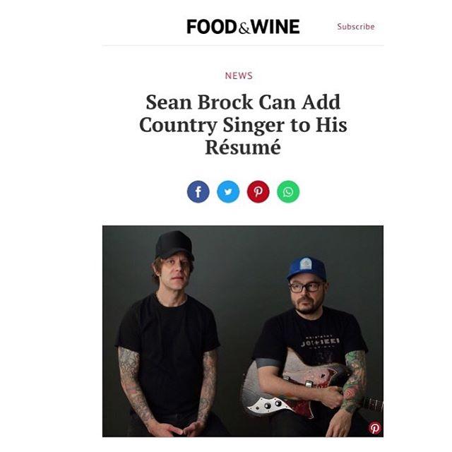 "Thanks a ton for the shout @foodandwine!  Pre-Order 7""45 Vinyl Single & Pre-Save on @spotify  Link in bio . . . . . . #SeanBrock #husknashville #BoocooAmigos #newsingle #newmusicfriday #7inch45 #vinyrules #vinyllove #kindercorevinyl #foodandwinemagazine #BooRay"