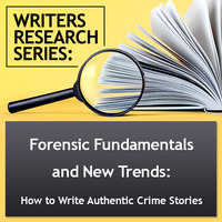 For writers interested in authentically and accurately using elements of forensic science in their screenplays and fictio.