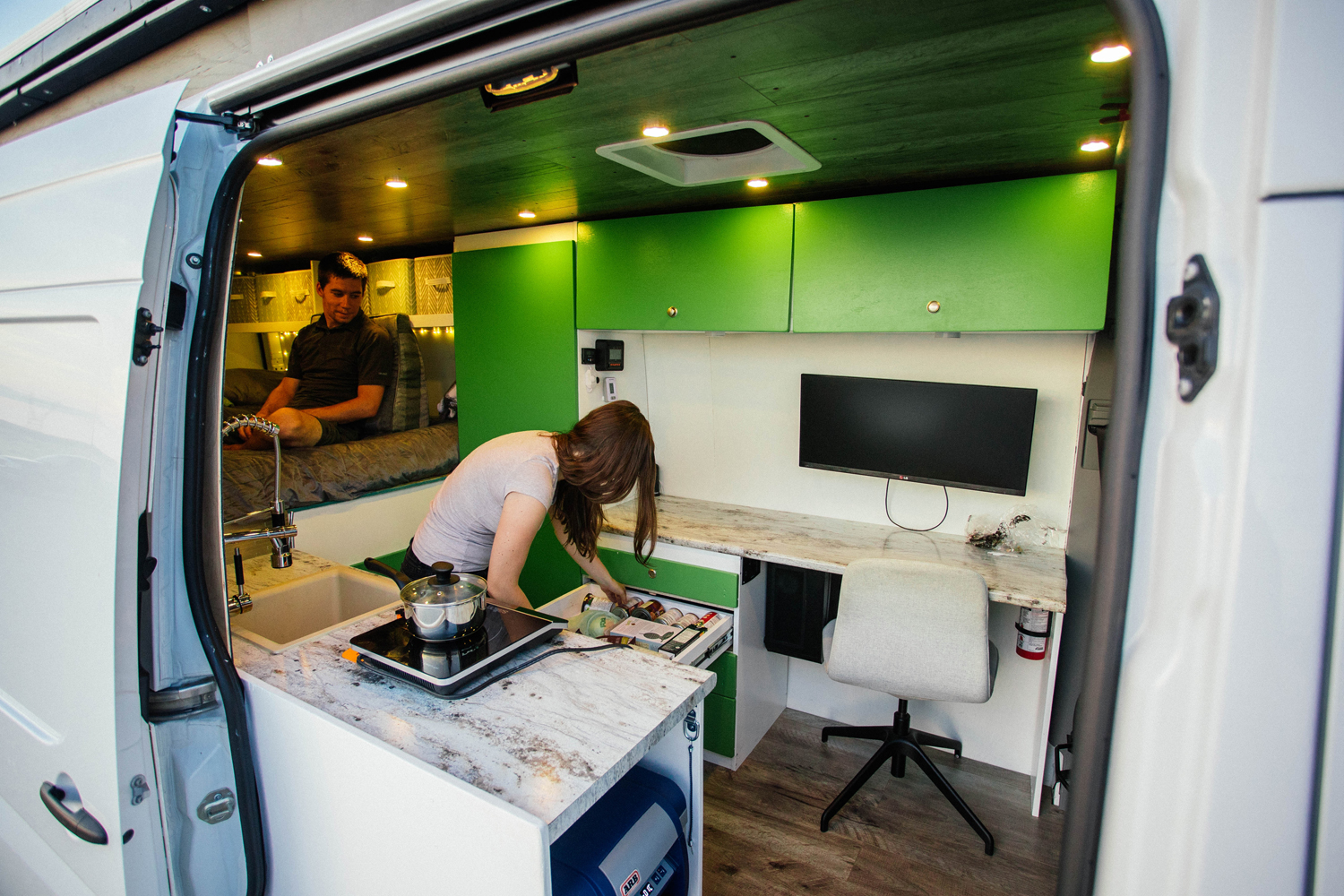 V&M Van Life designed by Ray Outfitted