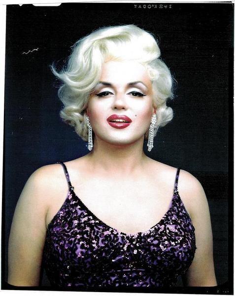 Jimmy James as Marilyn Monroe by Greg Gorman