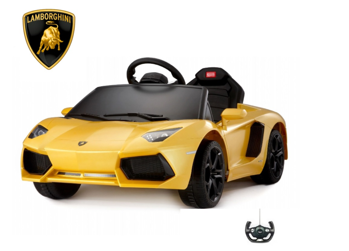 Lamborghini AVENTADOR - These beautiful Aventadors are perfect for toddlers & parents. Fully remote controlled. Luxury at it's finest. Available in orange and yellow.